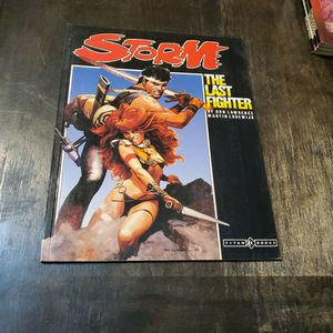 Storm The Last Fighter First Print 1987 Titan Books Graphic Novel, Rare. for Sale in Fresno, CA