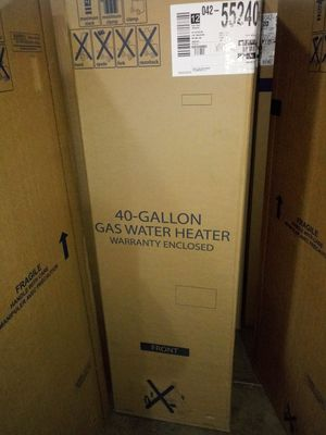40 gallon gas water heater for Sale in Detroit, MI