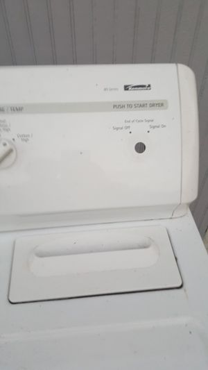 Dryer gas for part like new push button no working for Sale in Tampa, FL