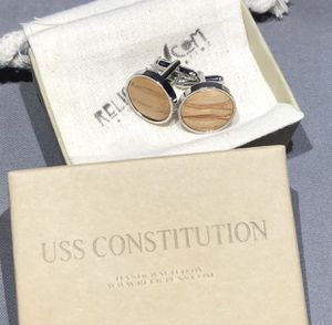 Historical Cufflinks from the Fir of the USS Constitution for Sale in Pleasanton, CA