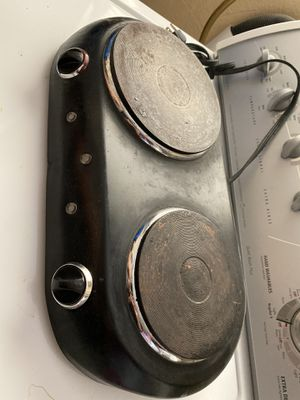 2 burner portable stove for Sale in Haines City, FL