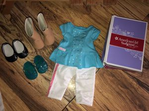 American Girl Doll Outfit and extra sets of Shoes for Sale in La Vergne, TN