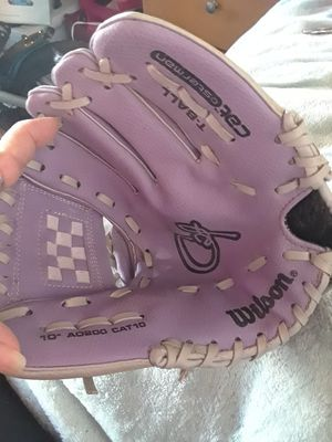 "Girls "" Wilson"" softball glove Lilac Purple and Grey for Sale in Imperial Beach, CA"