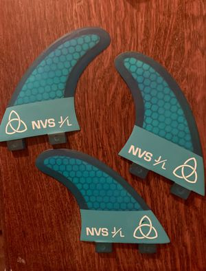 NVS FCS Surf Fins - Thrusters for Sale in Del Mar, CA