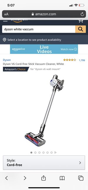 Dyson cordless vacuum for Sale in Bethesda, MD
