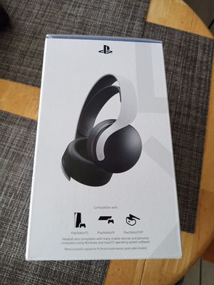 PS5 Sony Pulse 3D Wireless Gaming Headset for PlayStation 5 NEW!! PRICE FIRM for Sale in Fort Lauderdale, FL