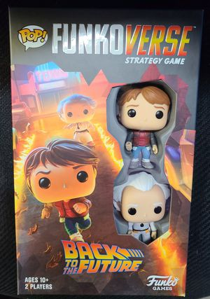 "FUNKO: BACK TO THE FUTURE (FUNKOVERSE STRATEGY GAME) ""W/2 EXCL FIGURES"" (NY TOY FAIR) 🔥 (SEALED/PRISTINE CONDITION) for Sale in Philadelphia, PA"