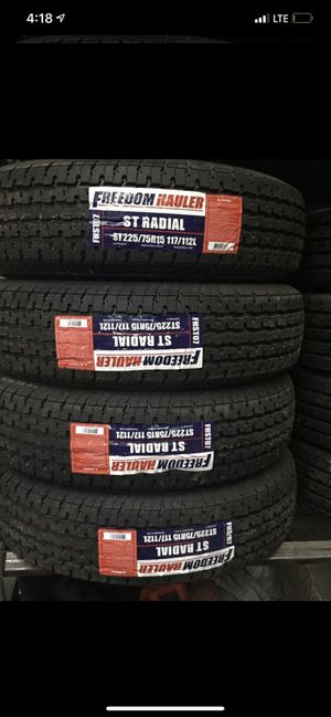 St 225/75/15 Trailer tire for Sale in Arlington, TX