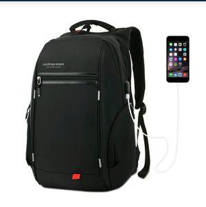 LUXUR 37L Nylon Waterproof Laptop Backpack for Sale in Los Angeles, CA