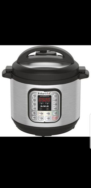 New in box Instant Pot DUO80 8 Qt 7-in-1 Multi- Use Programmable Pressure Cooker☆Retail:$99+Tax for Sale in Glendale, AZ