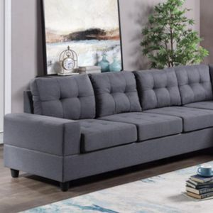 Reversible sectional gray for Sale in Houston, TX