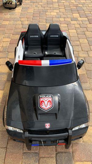 Dodge city police Car for kids for Sale in Auburndale, FL