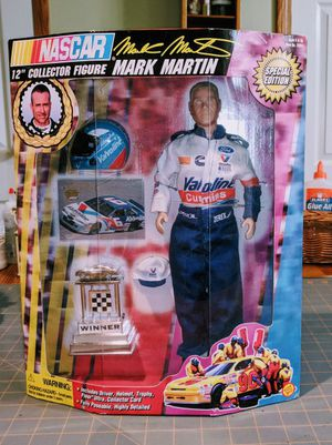 "Nascar Mark Martin 12"" Collector Figure for Sale in Lorain, OH"