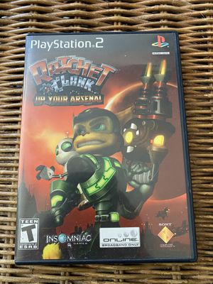 Ratchet And Clank Up Your Arsenal (PS2) for Sale in Las Vegas, NV