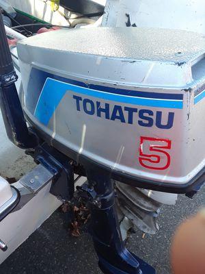Tohatsu 5hp outboard motor for Sale in Cranston, RI