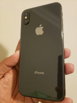 IPhone X , 256GB , UNLOCKED ( Excellent Condition ) for Sale in Springfield, VA
