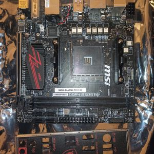MSI B450I Gaming Plus AC ITX Motherboard AM4 for Sale in Folsom, CA