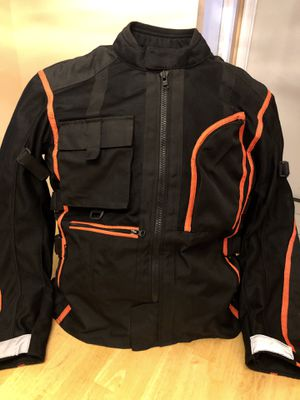 motorcycle jacket (style ,quality ,safety) for Sale in Woodbridge, VA