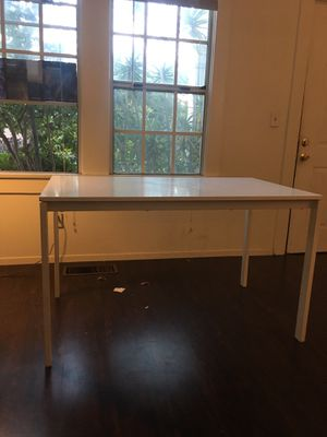 Ikea melltorp white kitchen table for Sale in Los Angeles, CA