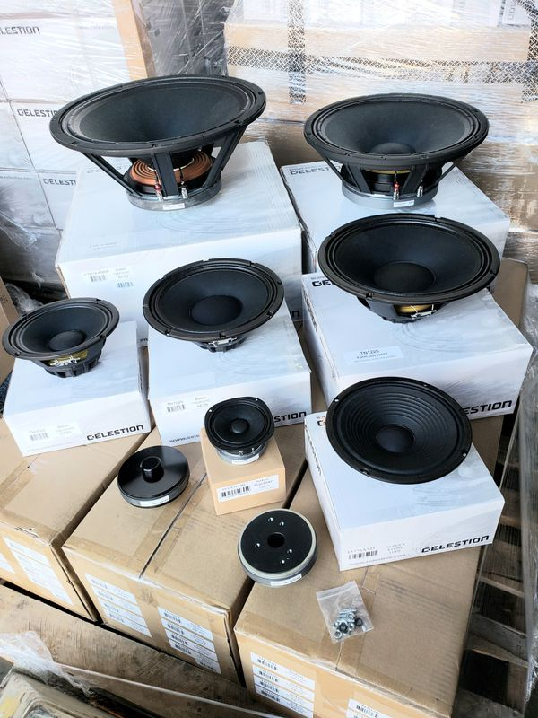 "NEW 15"" 1000 watt RMS 97dB Celestion FTR15-4080FD pro audio subwoofer woofer midrange many available JBL 2226H alternative"