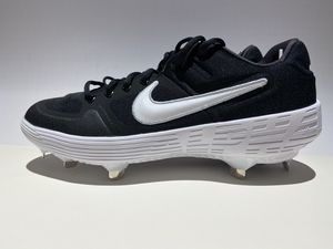 Nike Alpha Huarache Elite 2 Low Shoes Black/White Size 9.5 and Size 8.5 Cleats for Sale in Salt Lake City, UT