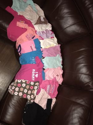 Baby girls items. Clothes are 0-3 month. for Sale in Midland, TX