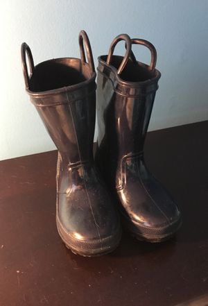 Capelli kids rain boots size 7 for Sale in Nashville, TN