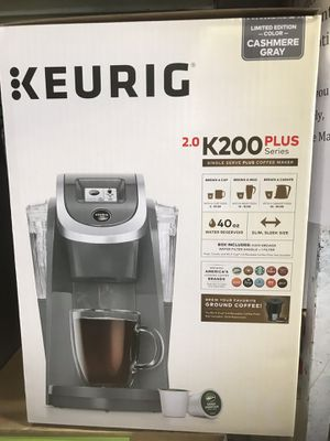 New Keurig 2.0 in box gray color for Sale in Beaumont, CA