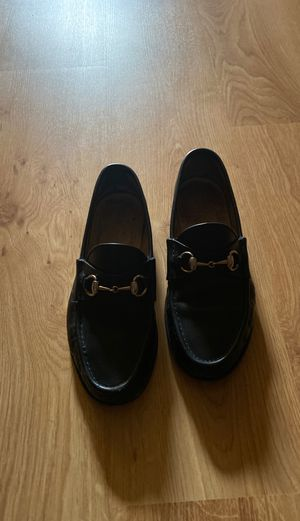 Black Men Gucci Loafers size 81/2d for Sale in Lilburn, GA