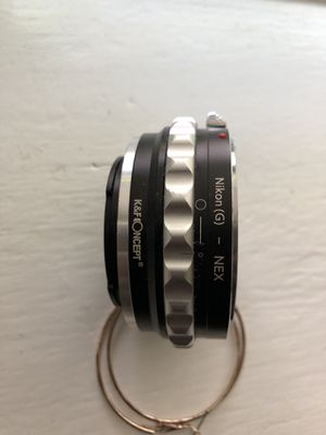Lens Mount Adapter, K&F Concept Nikon G Mount F/AI/G Lens to Sony E-Mount for Sale in Chicago, IL