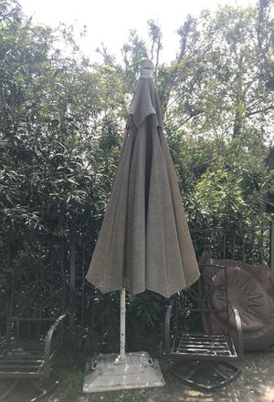 Natural colored huge umbrella tent for your outsoor patio/bbq area for Sale in Los Angeles, CA