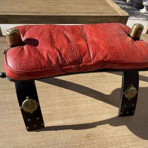 Antique Camel Saddle Stool for Sale in Las Vegas, NV