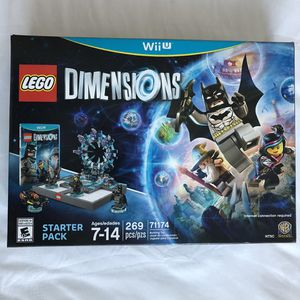 Nintendo Wii U LEGO DIMENSIONS Batman 269 Pieces STARTER PACK Set New for Sale in Eastvale, CA