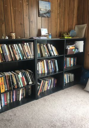 3 matching bookshelves for Sale in Daly City, CA