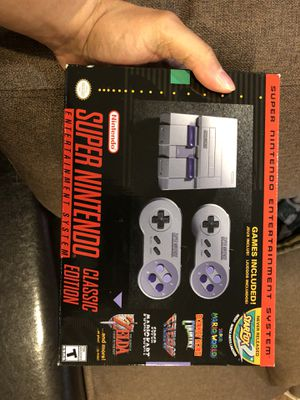 Super Nintendo brand new never opened for Sale in New York, NY
