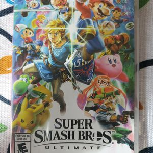 Nintendo Switch Super Smash Brothers Ultimate for Sale in Hollywood, FL