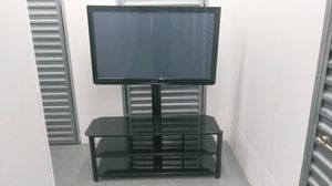 Plasma tv and stand for Sale in Gardena, CA