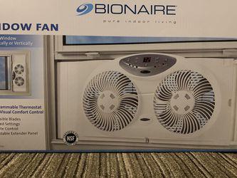 Bionaire Window Fan for Sale in Denville,  NJ