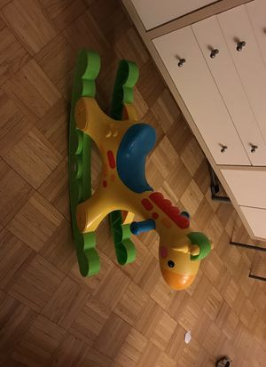 Fisher price rocking tune giraffe for Sale in New York, NY