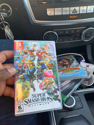 Super smash bros Nintendo switch for Sale in Matawan, NJ
