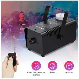 Fog Machine with Continuous Fog, Upgraded Halloween Smoke Machine Professional Time Control One Key to Get 30S 60S 80S 3 Modes Continuous Spray, Wire for Sale in Queens, NY
