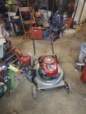 Craftsman side discharge push mower for Sale in Columbus, OH