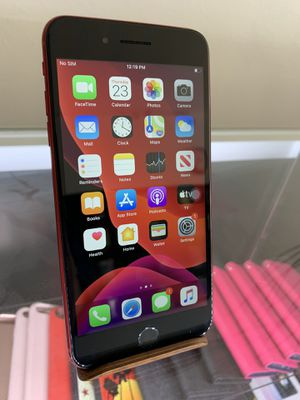 iPhone 8 Plus Red Edition Unlocked 64gb for Sale in Los Angeles, CA