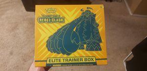 Pokemon Rebel Clash Elite Trainer Box Sealed for Sale in Las Vegas, NV
