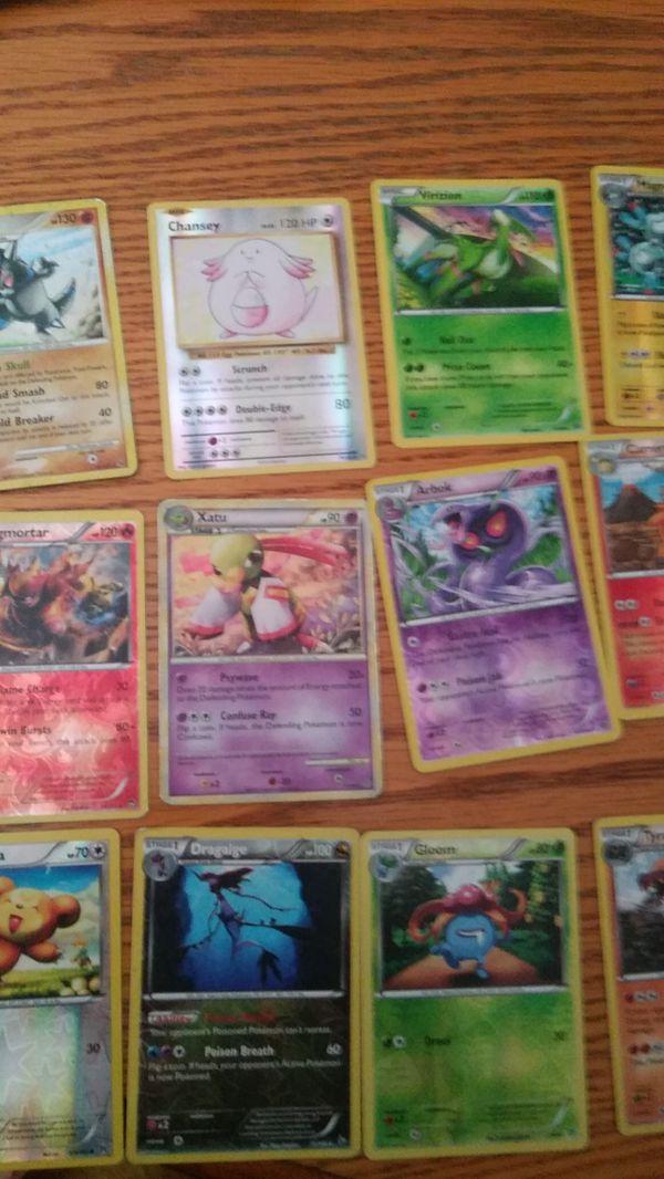 Shiny/Reflective pokemon cards
