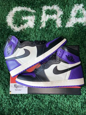 Jordan 1 Court Purple for Sale in Naugatuck, CT