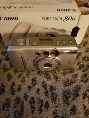 Canon sure shot 80u camera for Sale in Bangor, ME