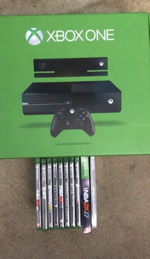 Xbox One with Games for Sale in San Diego, CA