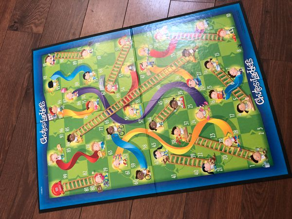 New chutes and ladders game - preschool.