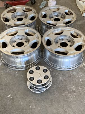 "chevy 16"" rims for Sale in Houston, TX"